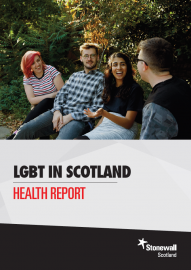 LGBT in Scotland Health report cover