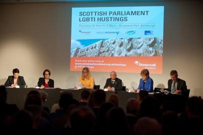 Scottish Parliament LGBTI Hustings
