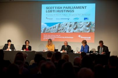 Scottish Parliament LGBTI Hustings