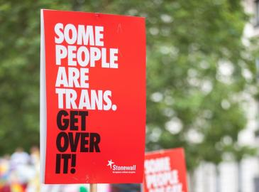 Stonewall Scotland Community Trans Allies Programme for third Sector