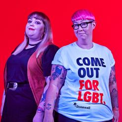 Come Out For LGBT - Friend and Ruth Russell