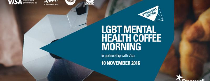 LGBT Mental Health Coffee Morning